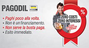 Pagodil non è un finanziamento finalizzato, ma è una dilazione di pagamento.